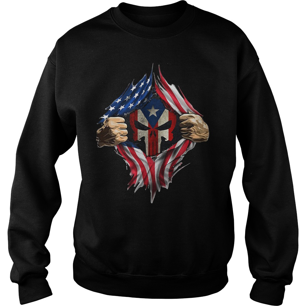 Puerto Ricans blood inside me new classic Sweater