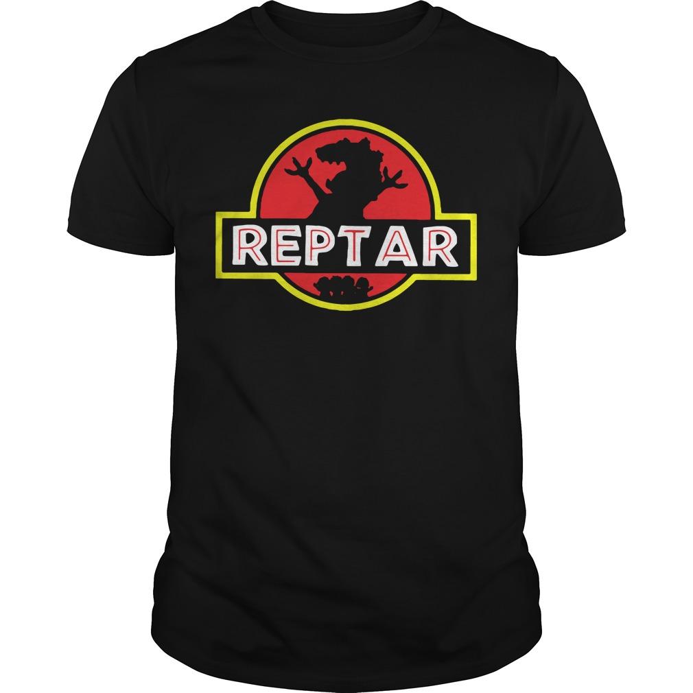 Reptar Jurassic park Guys Shirt