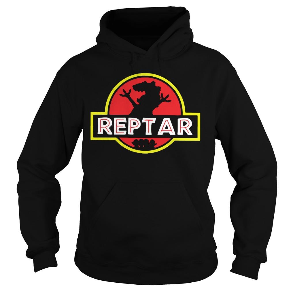 Reptar Jurassic park Hoodie