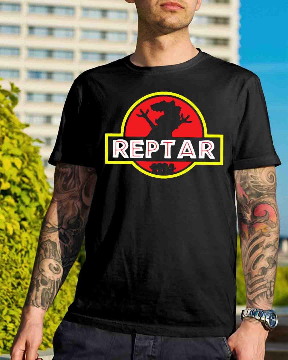 Reptar Jurassic park shirt