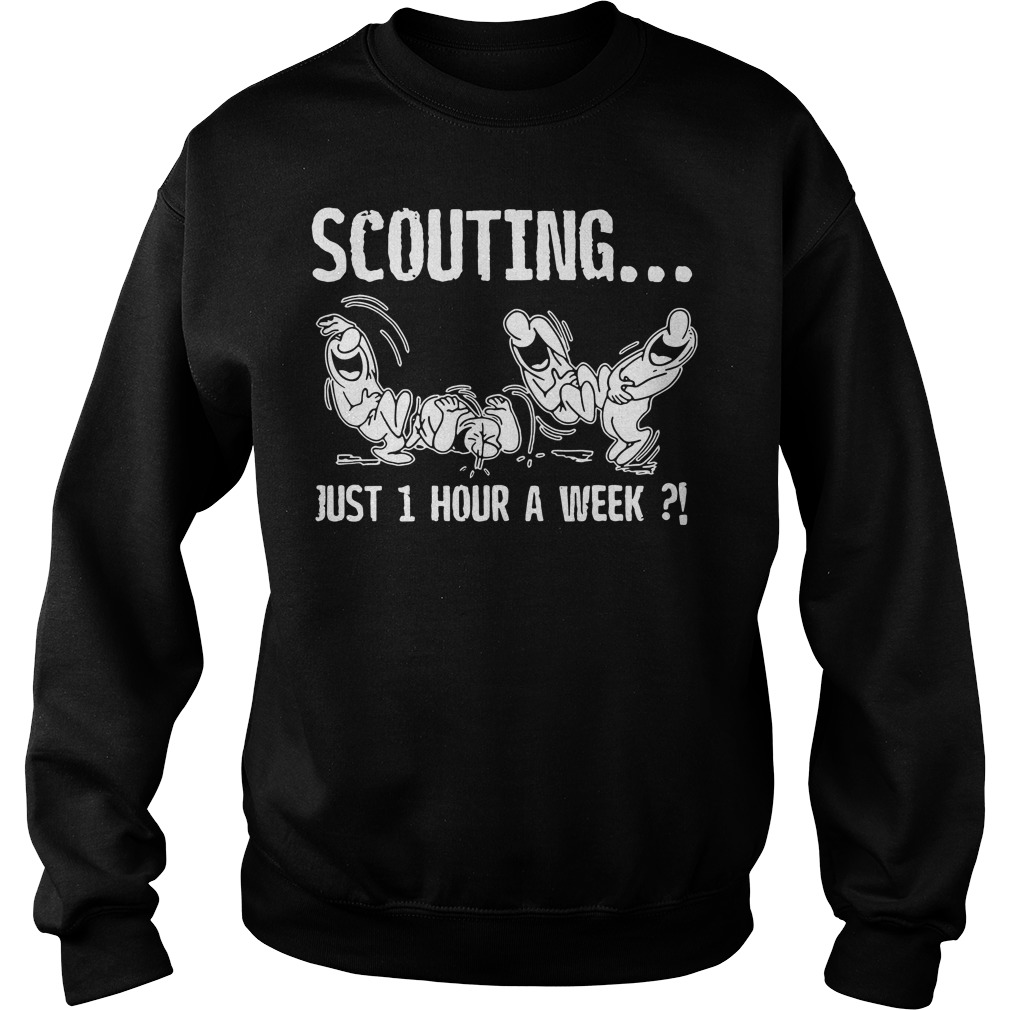 Scouting just 1 hour a week Sweater