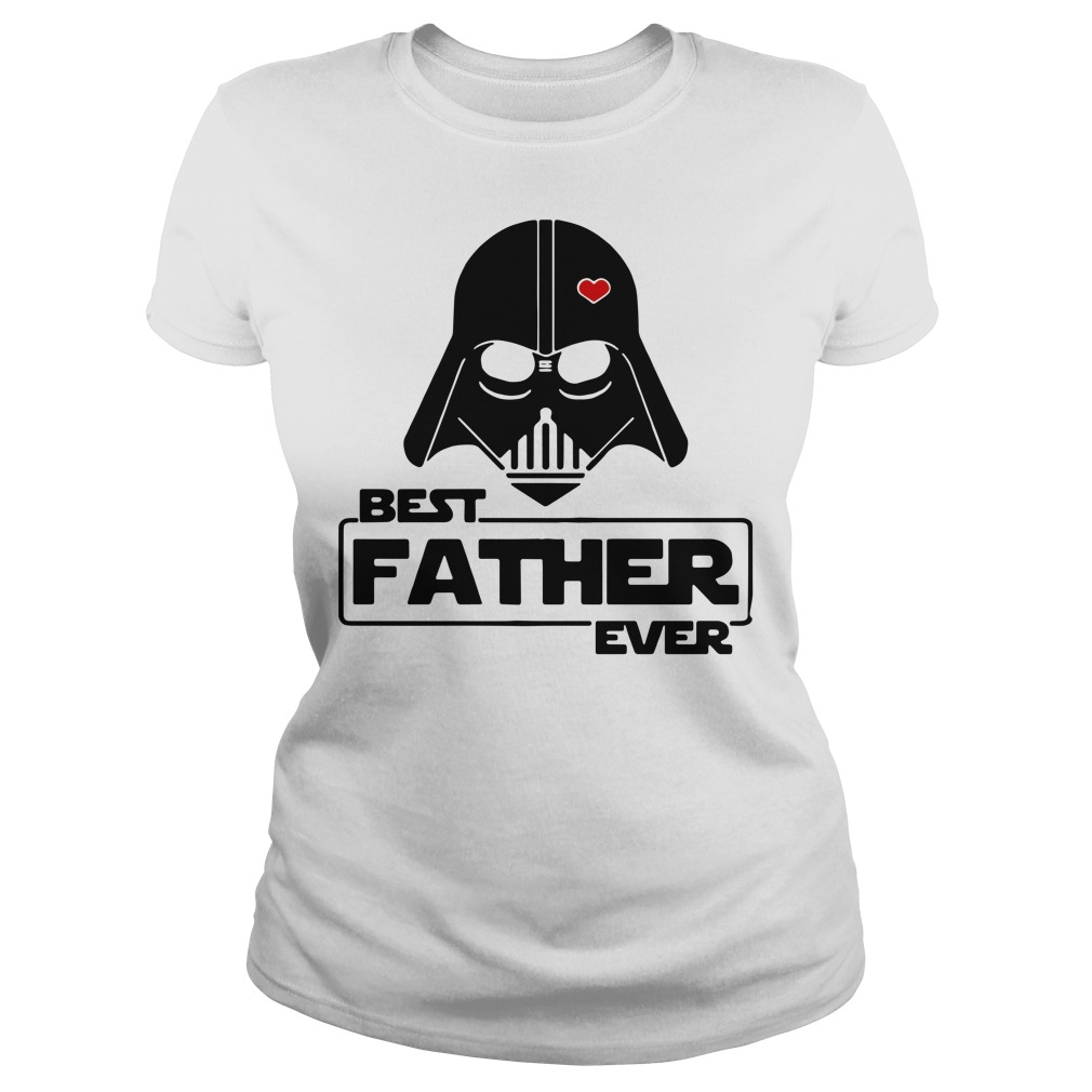 Star wars best father ever Ladies Tee