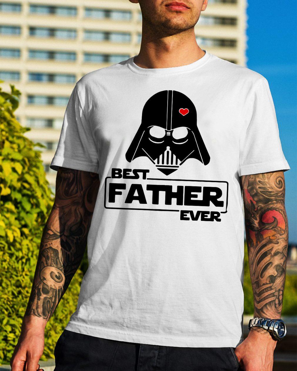 Star wars best father ever shirt