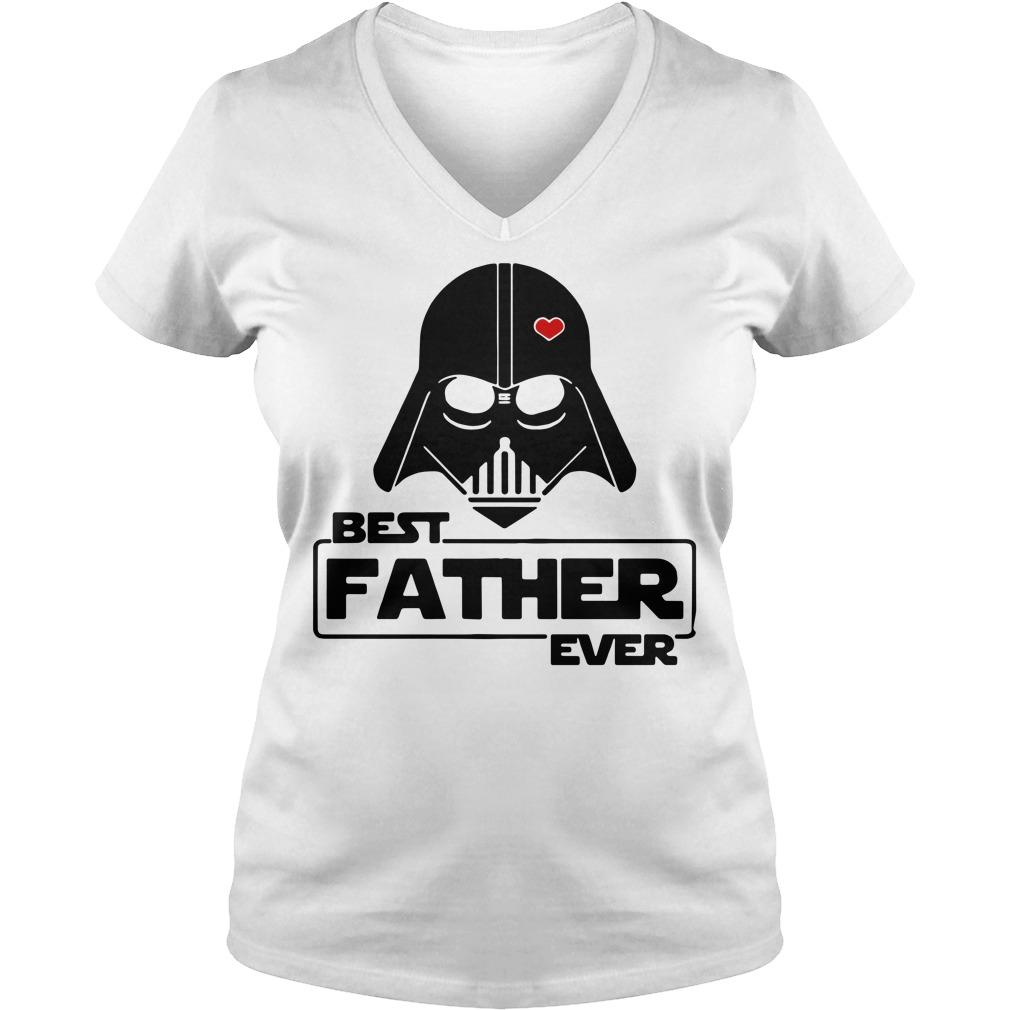 Star wars best father ever V-neck T-shirt