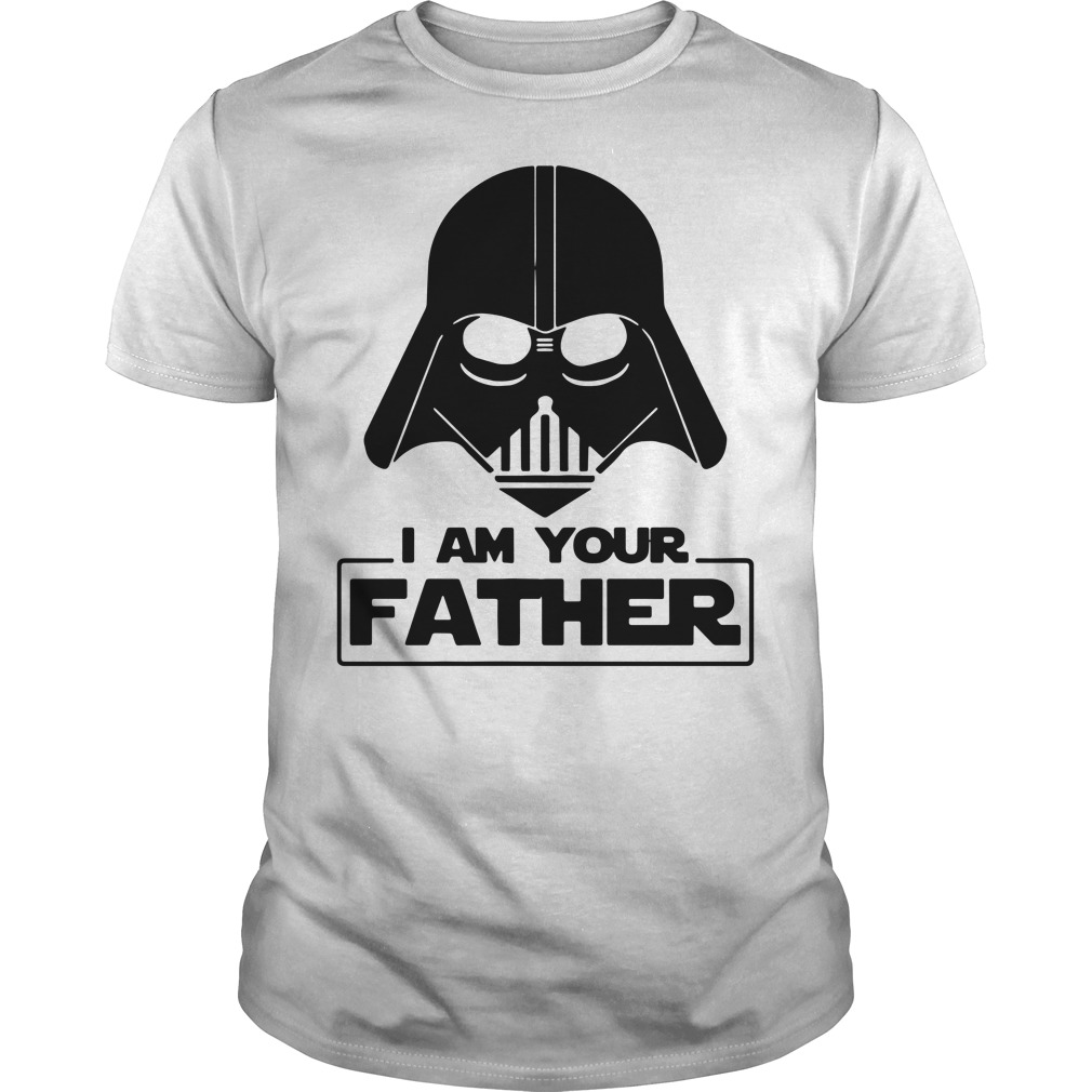 Star wars I am your father Guys Shirt
