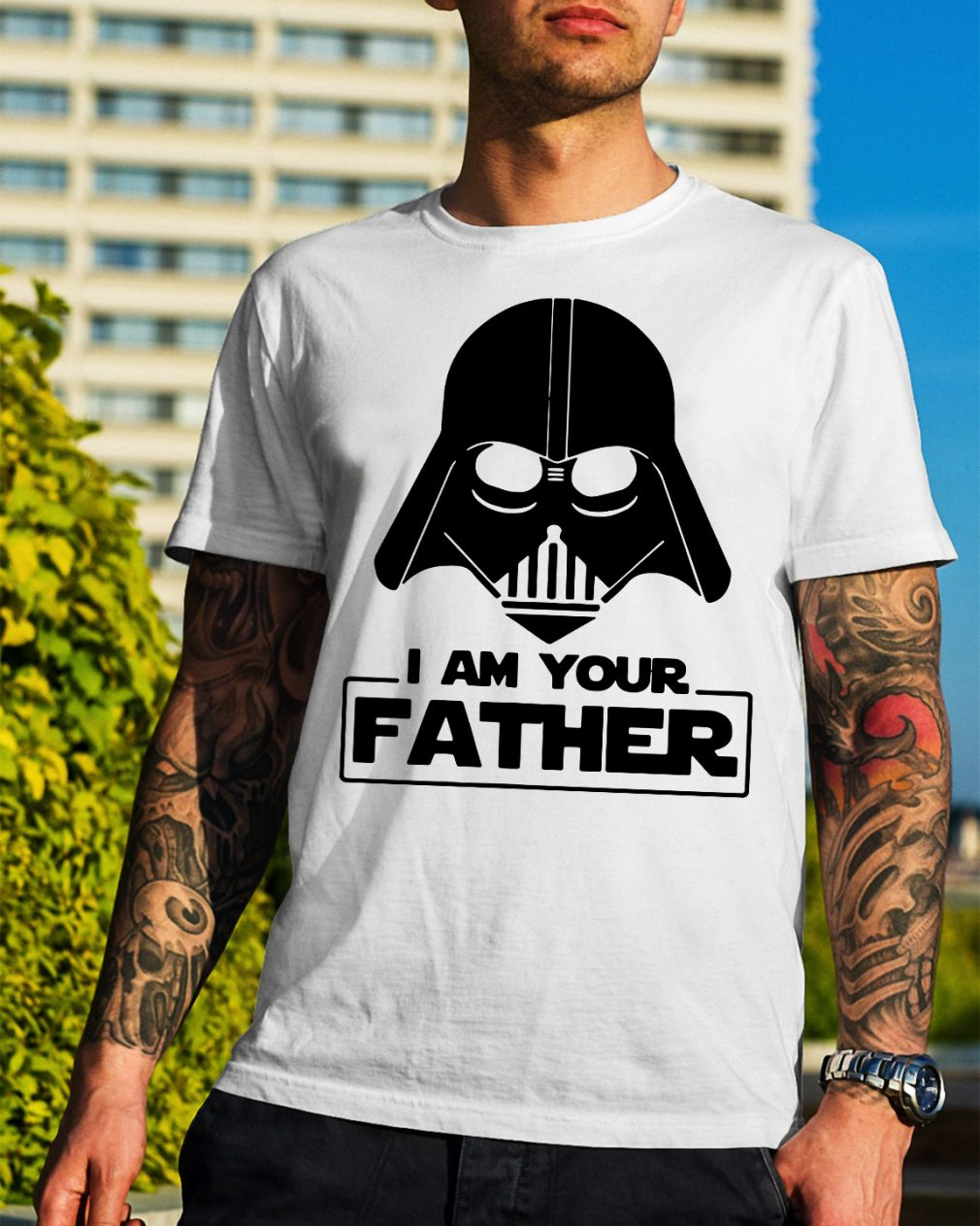 Star wars I am your father shirt