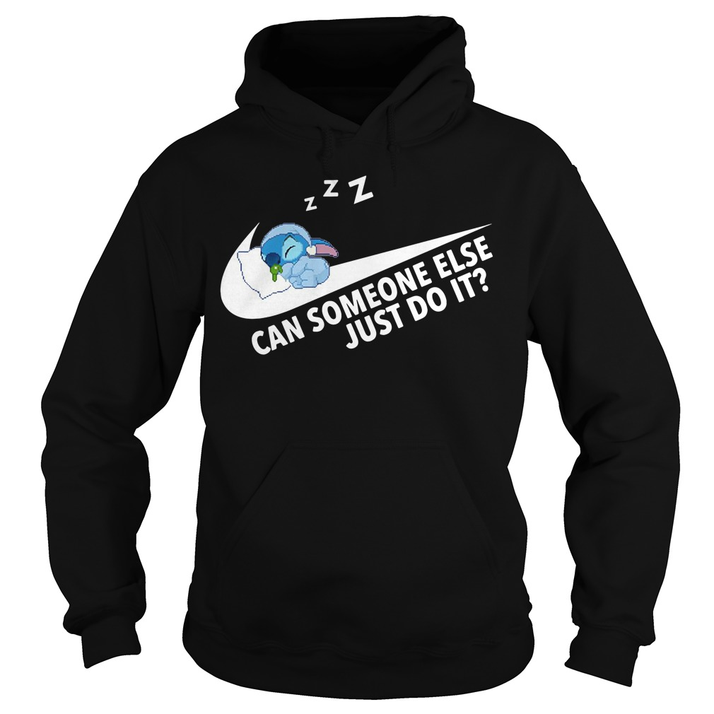 Stitch can someone else just do it Hoodie