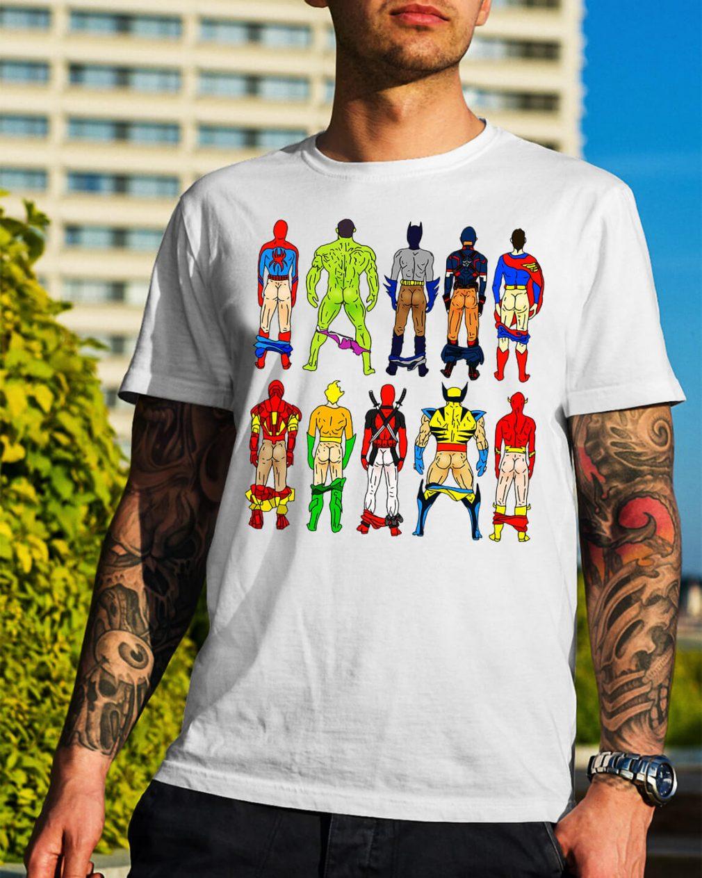 Superhero Butts shirt