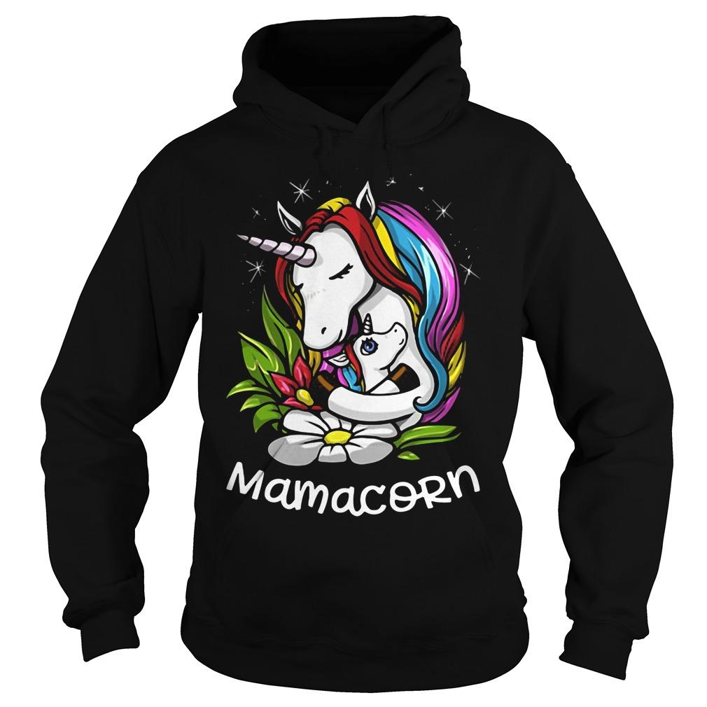 Unicorn mama corn Hoodie