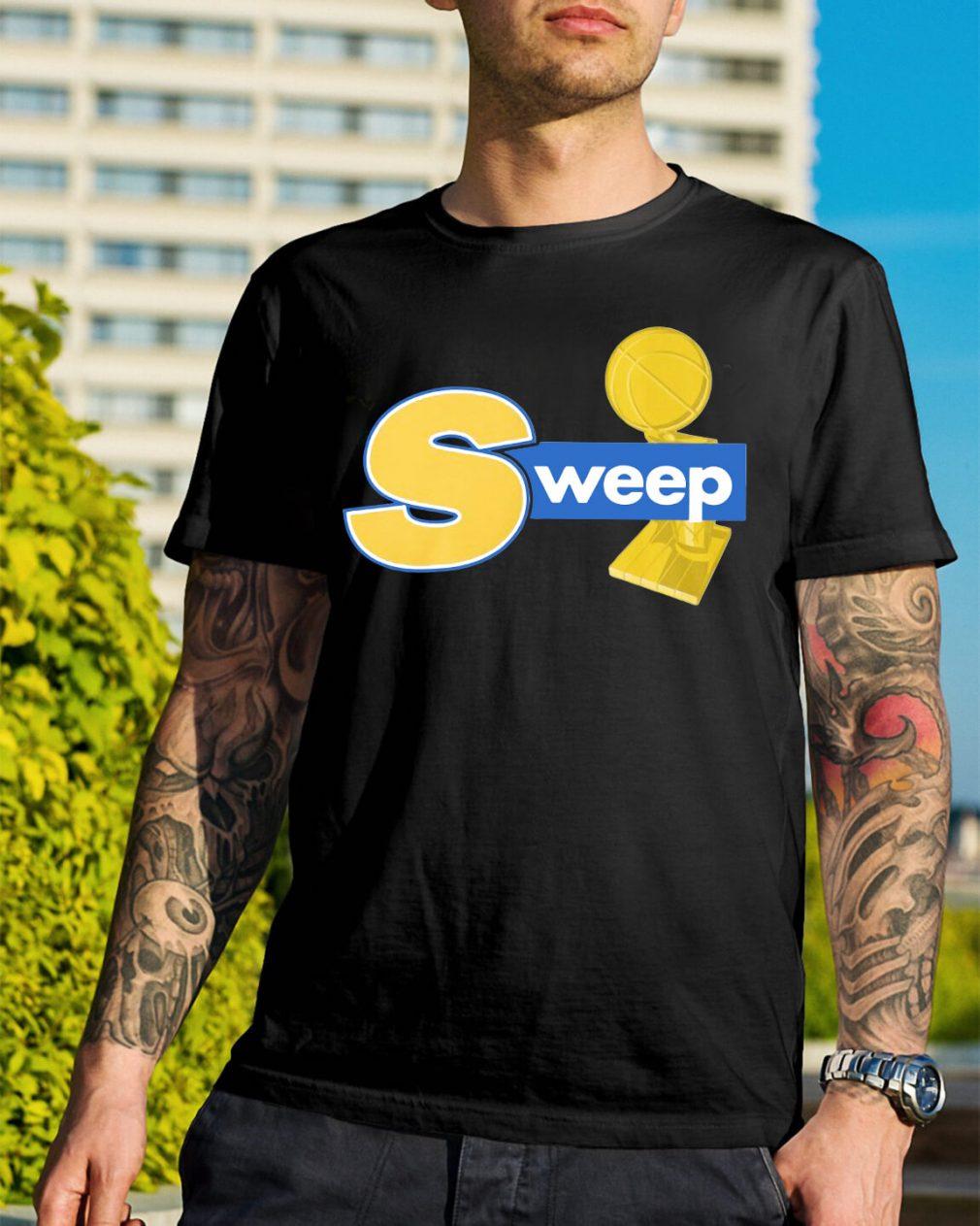 Warriors champs sweep shirt