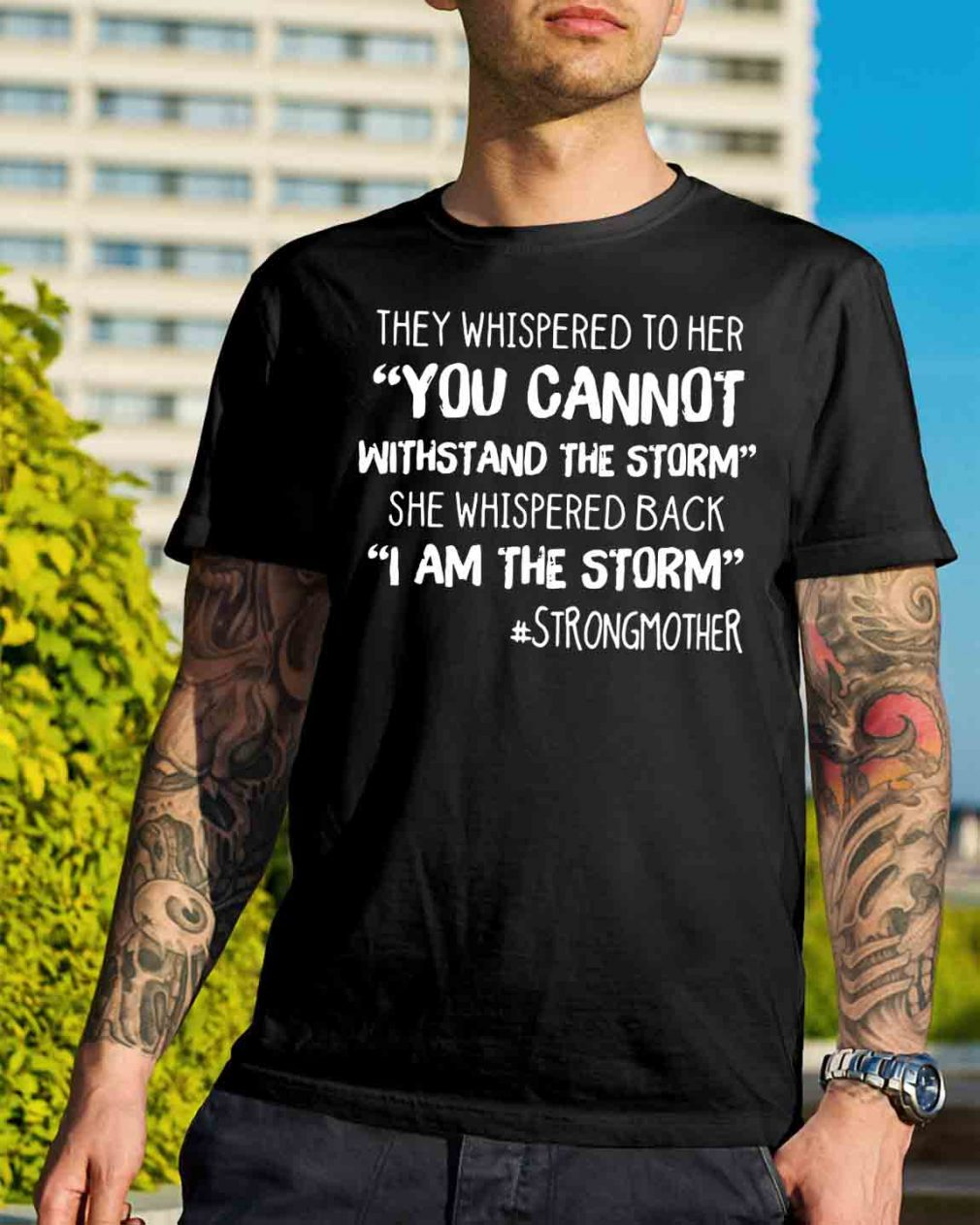 They whispered to her you cannot withstand the storm shirt