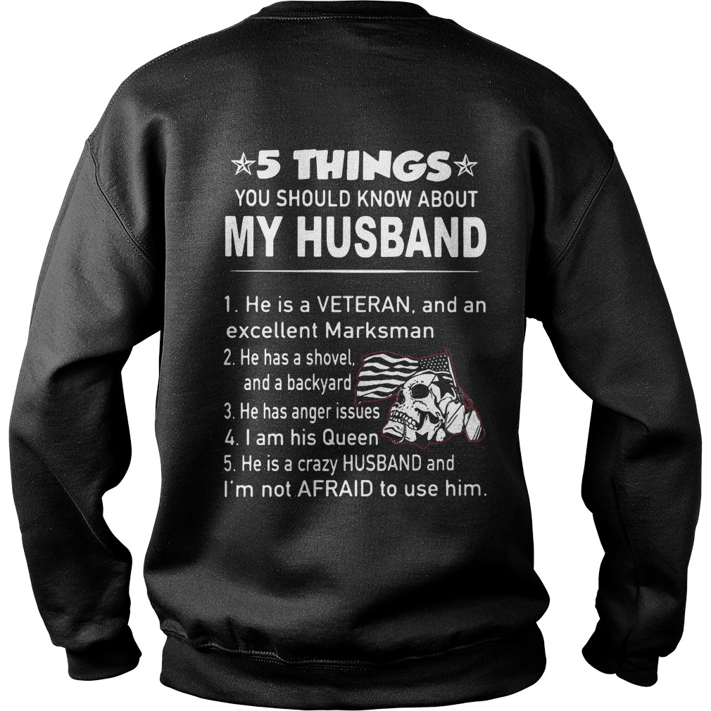 5 things you should know about my husband Sweater