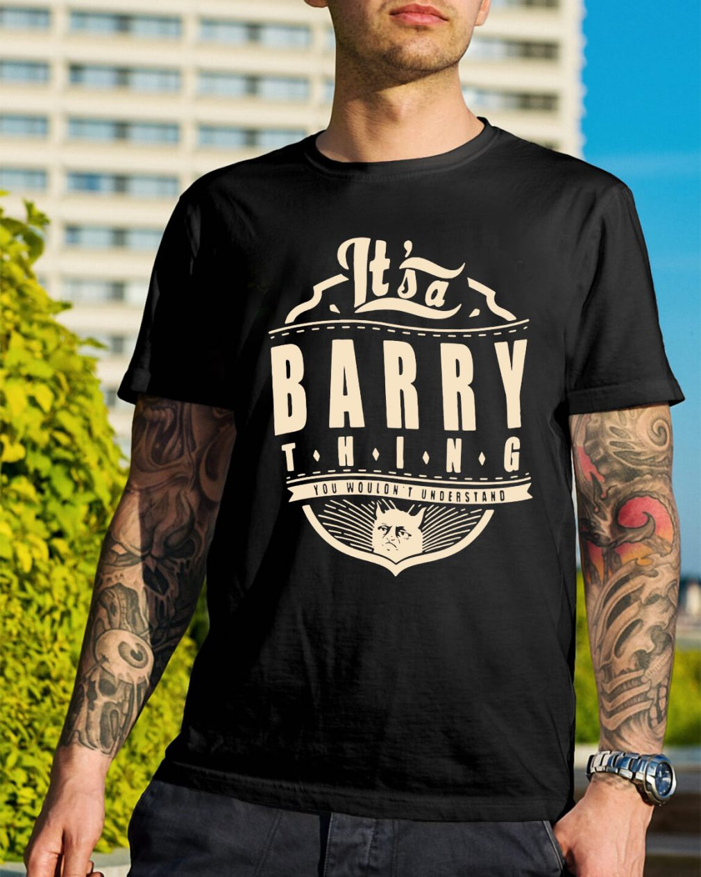 It's a barry thing you wouldn't understand shirt