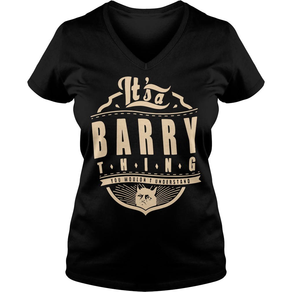 It's a barry thing you wouldn't understand V-neck T-shirt