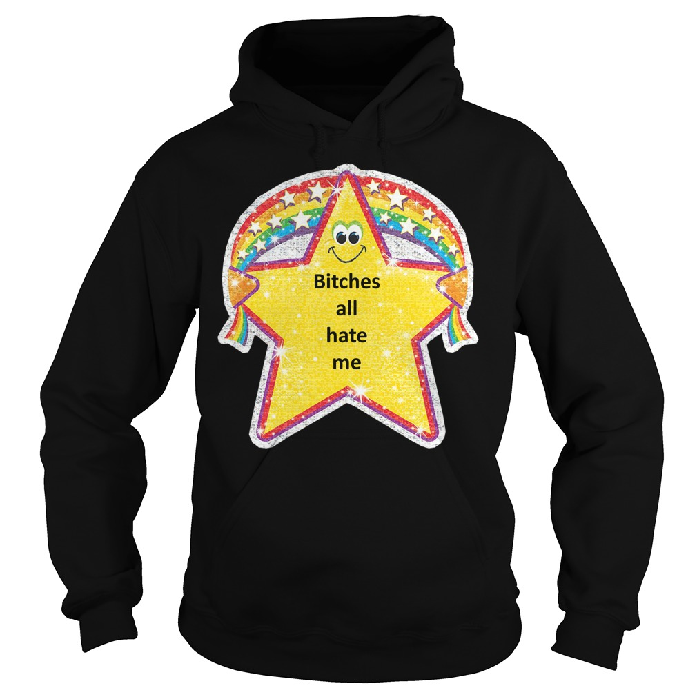 Bitches all hate me Hoodie