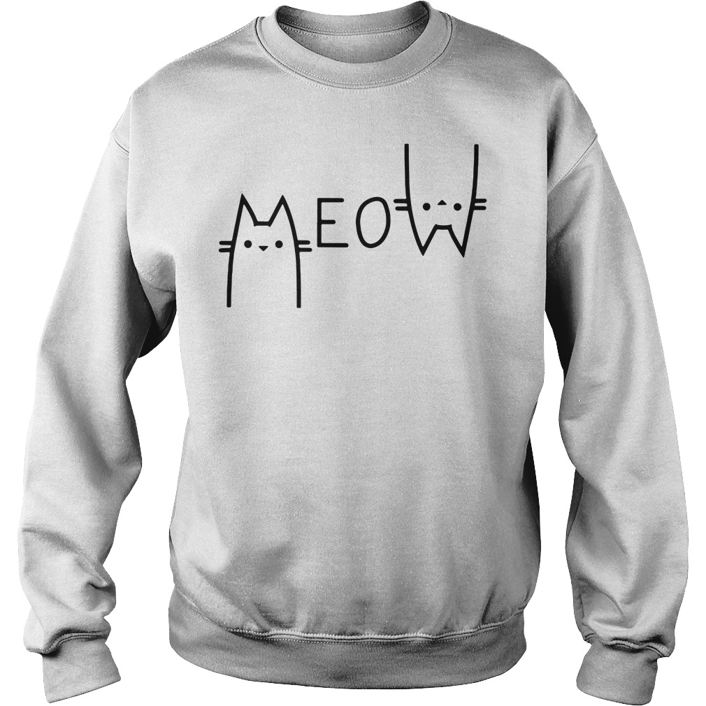 Cat Meow tote bag Sweater