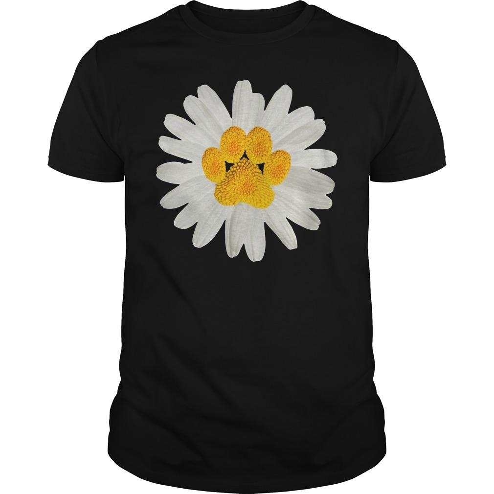 Dogpaw daisy Guys Shirt