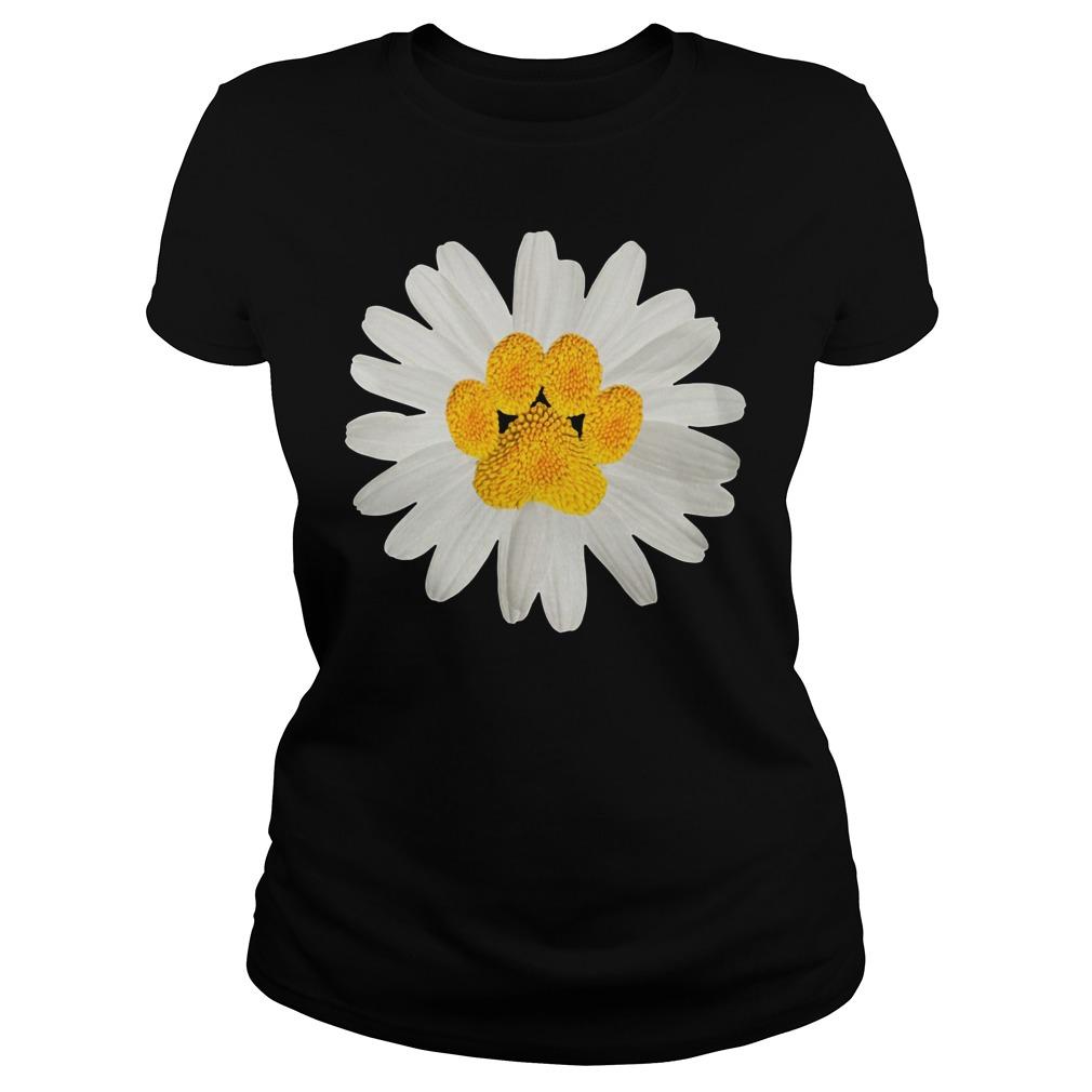 Dogpaw daisy Ladies Tee