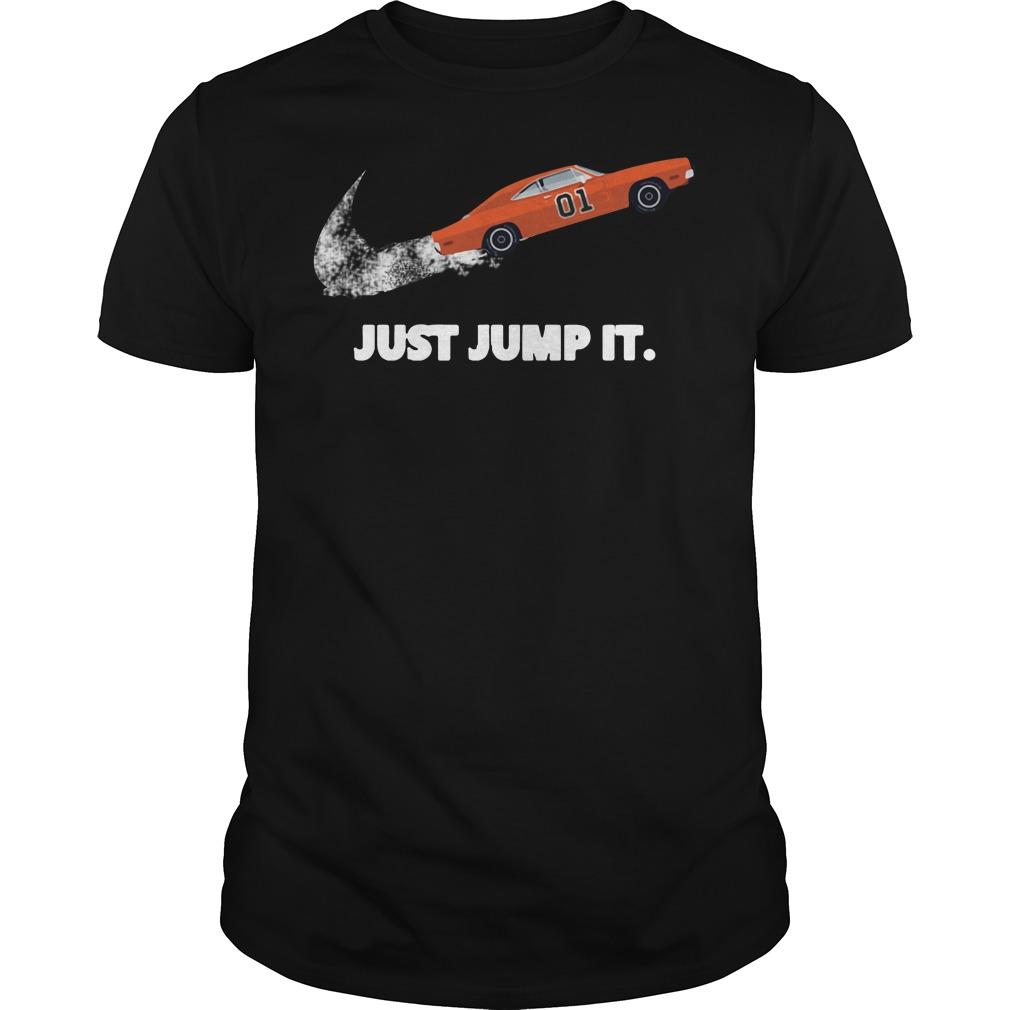 The Dukes of Hazzard 01 just jump it Guys Shirt