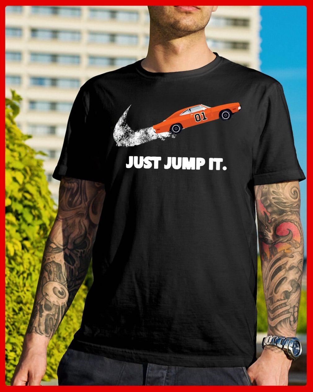 The Dukes of Hazzard 01 just jump it shirt