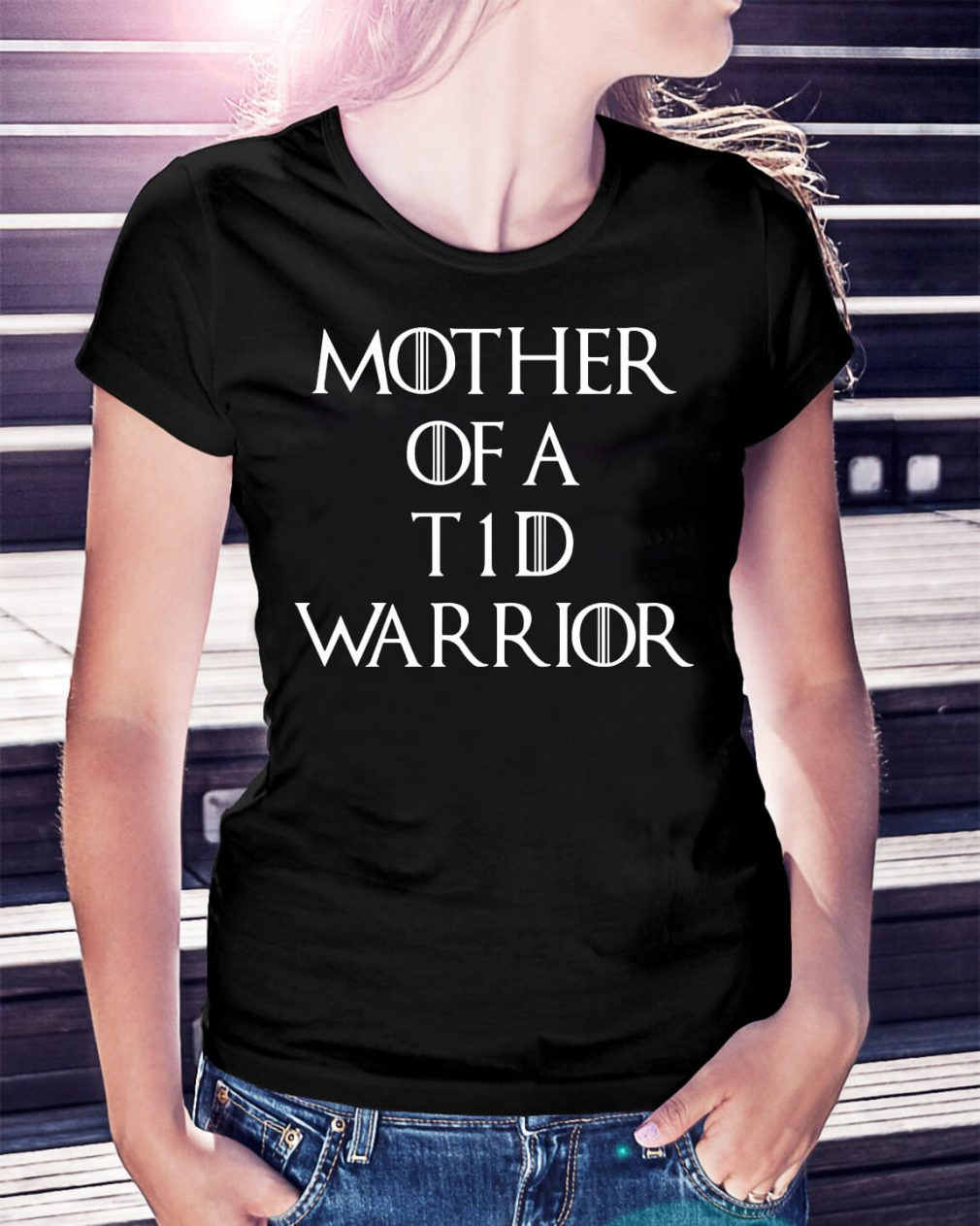Game of Thrones mother of a t1d warrior shirt