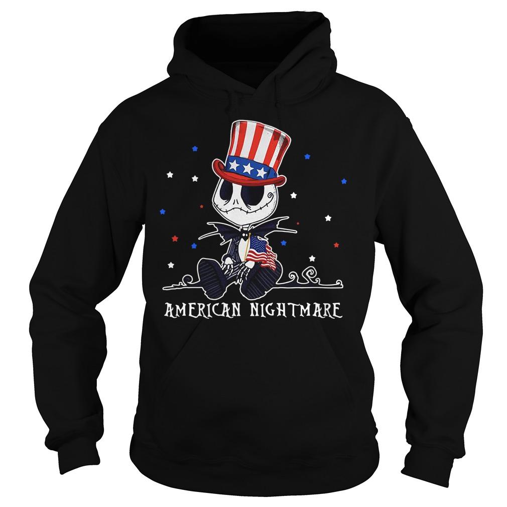 Jack Skellington American nightmare Hoodie