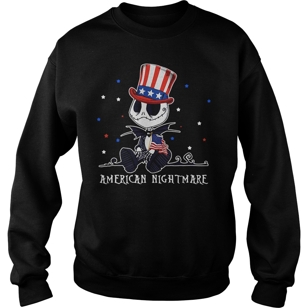Jack Skellington American nightmare Sweater