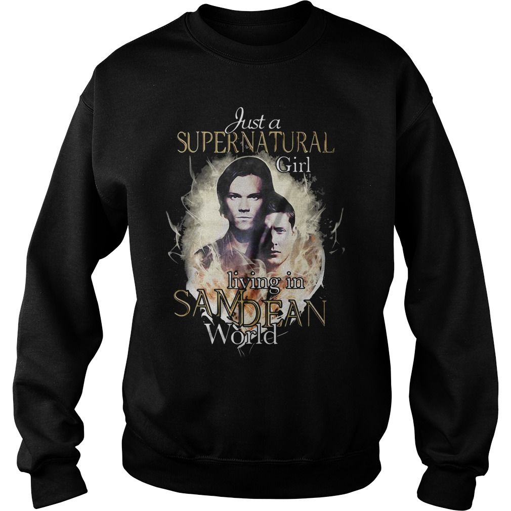 Just a supernatural girl living in Sam Dean world Sweater