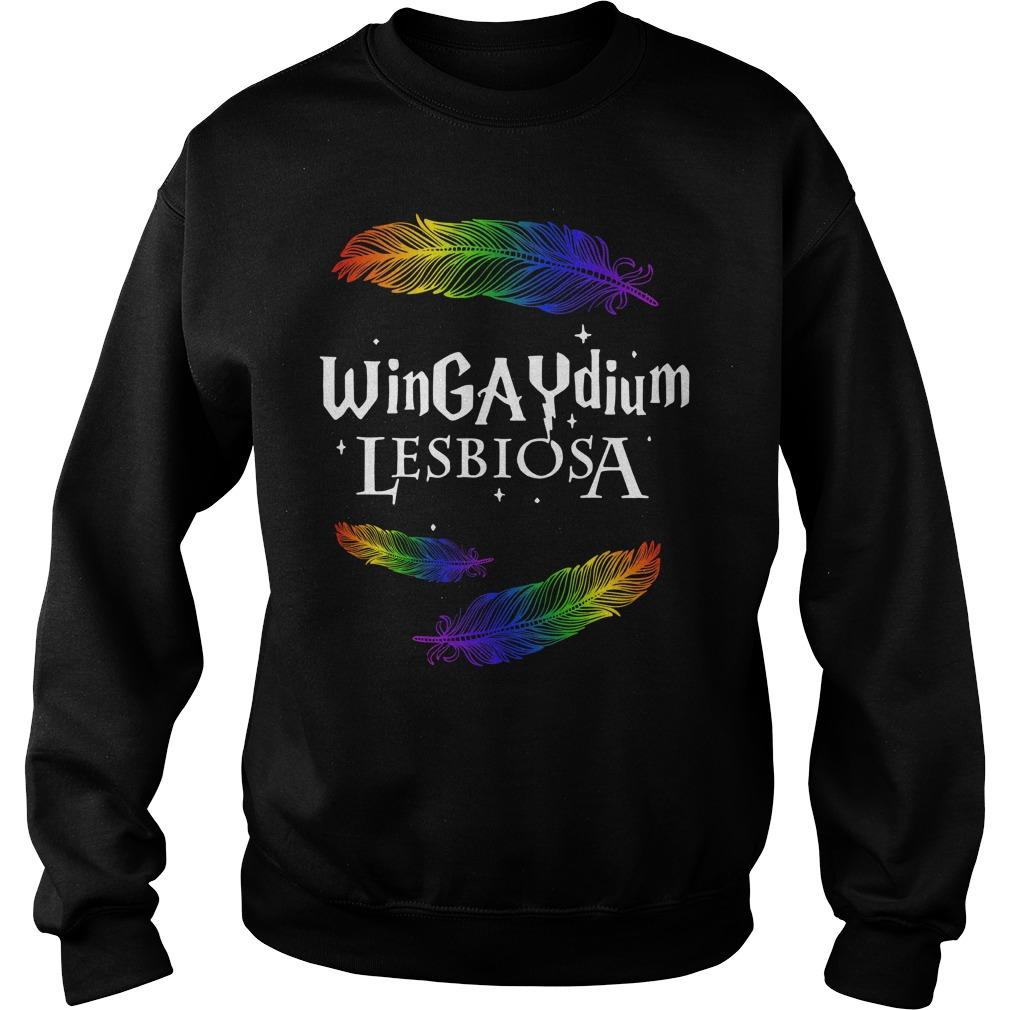 LGBT wingaydium lesbiosa Sweater