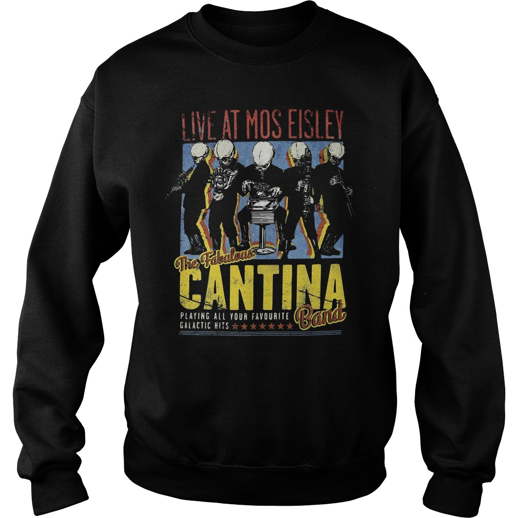 Live at Mos Eisley the Fabulous Cantina band Sweater