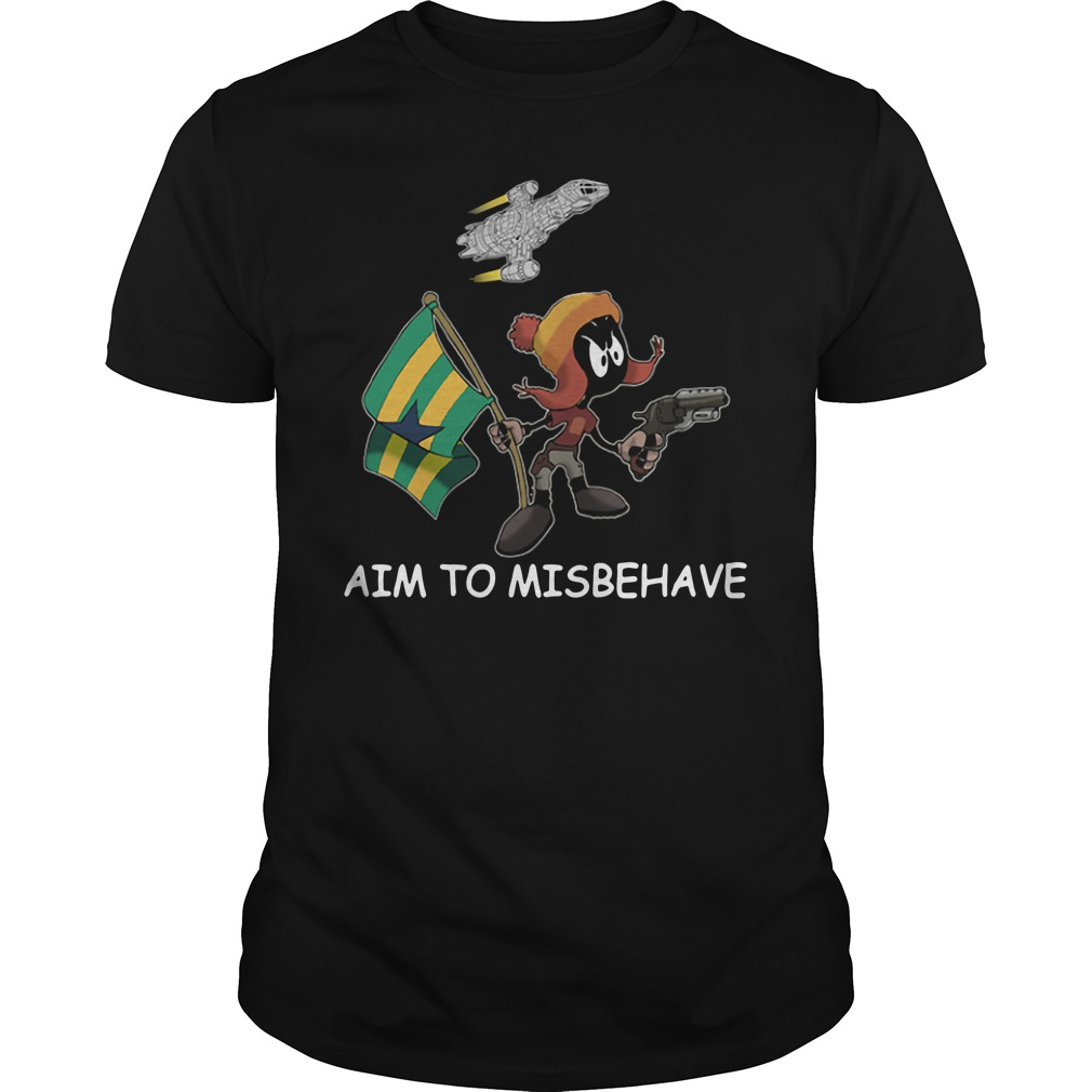 Marvin aim to misbehave Guys Shirt