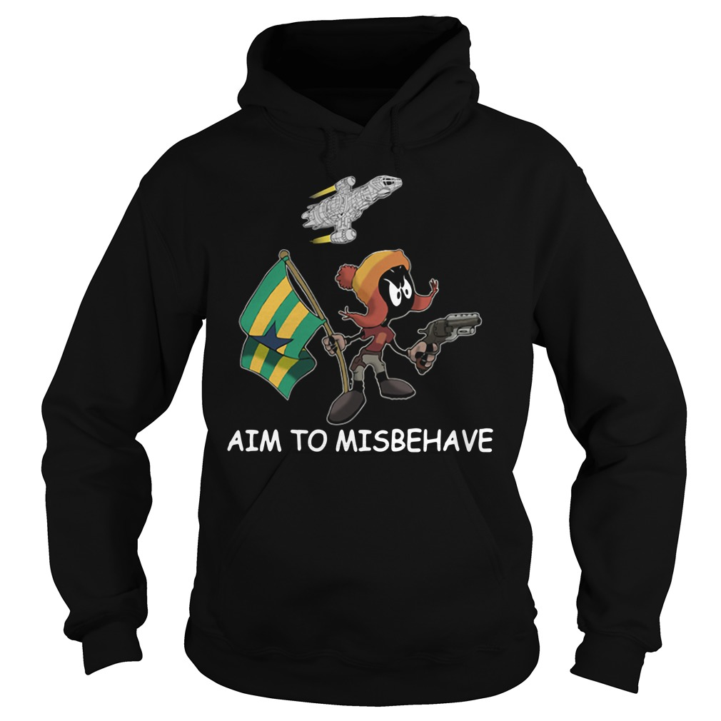 Marvin aim to misbehave Hoodie