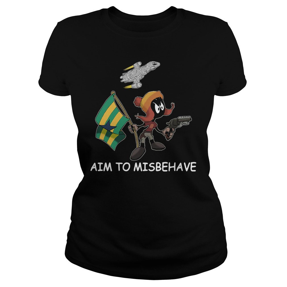 Marvin aim to misbehave Ladies Tee
