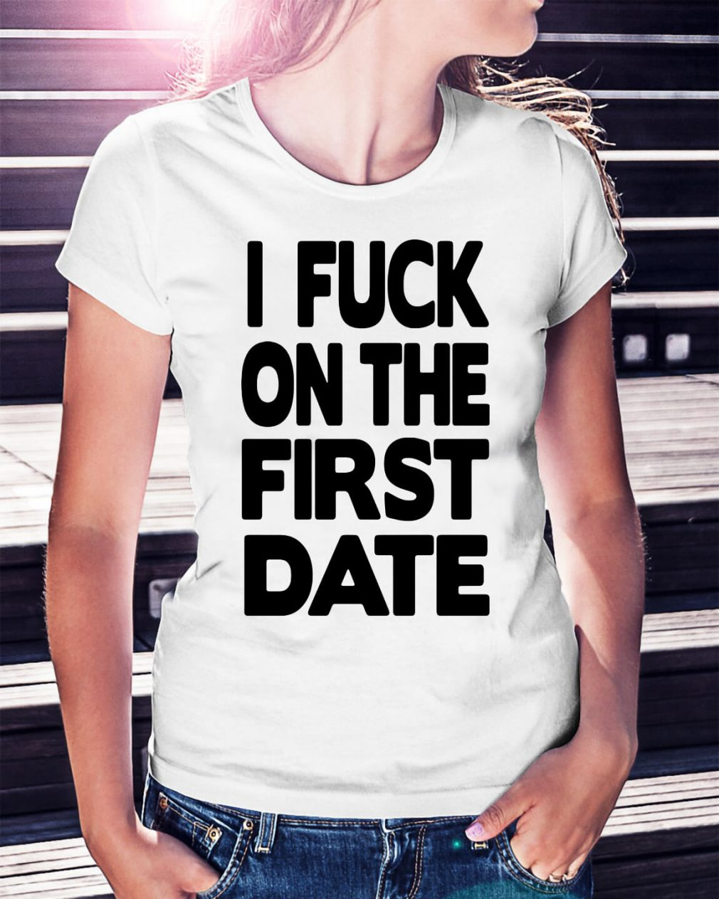 Official I fuck on the first date shirt