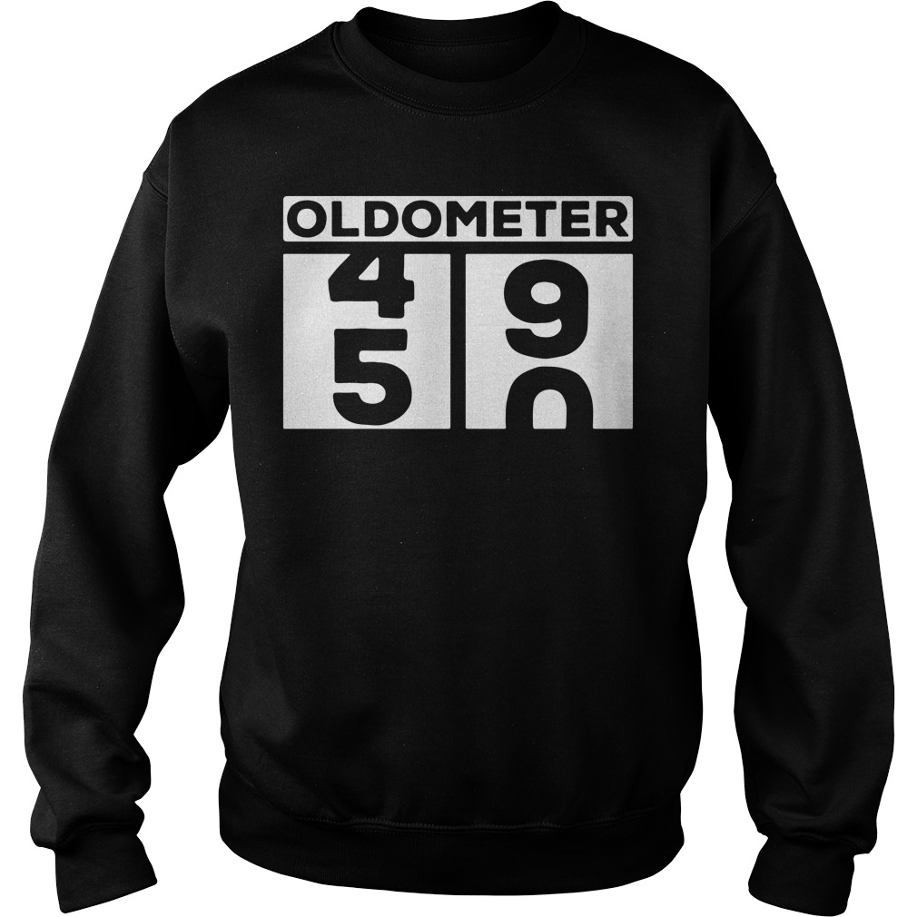 01e752034 Oldometer 50 year old birthday shirt, hoodie, sweater and v-neck t-shirt