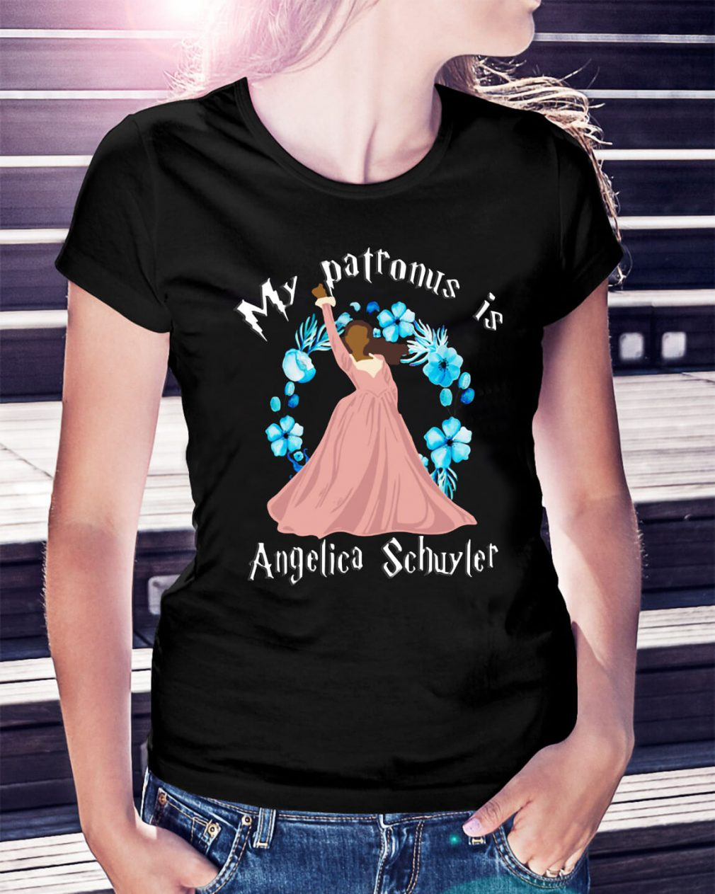 My patronus is Angelica Schuyler shirt