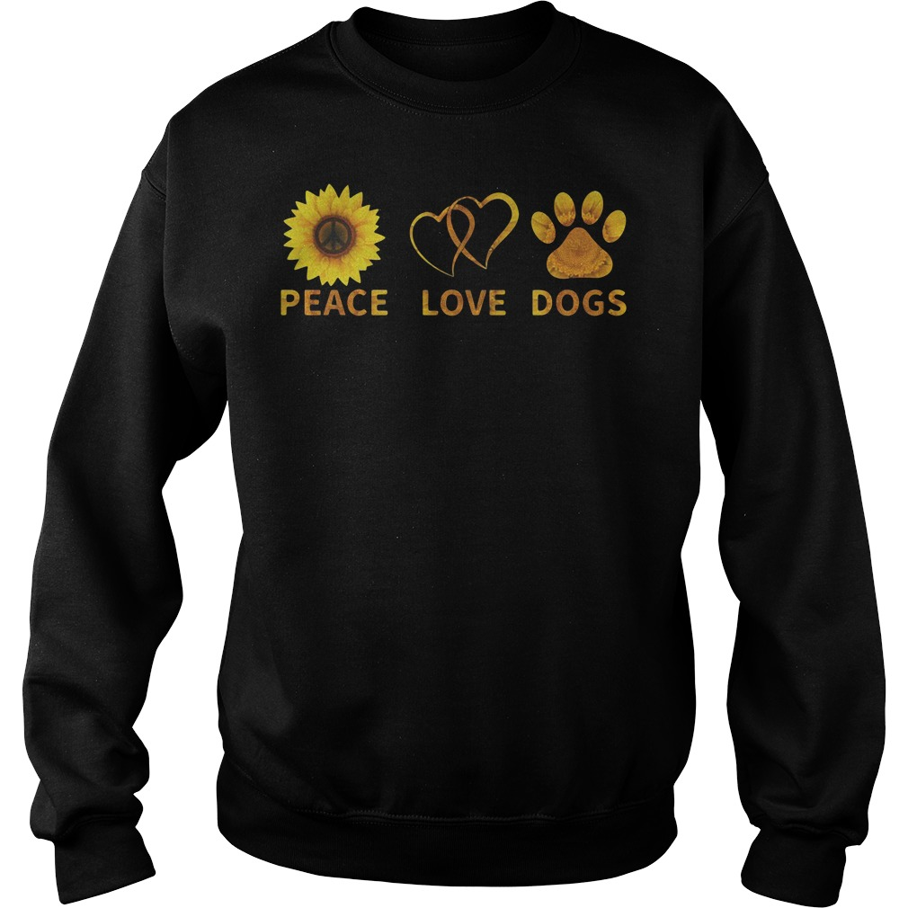 Official Peace love dogs Sweater