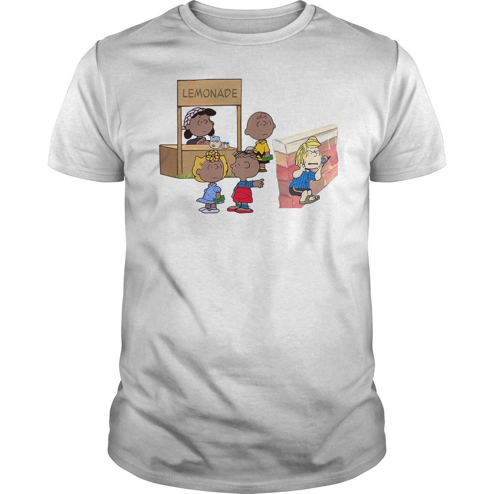 The peanuts lemonade snitch Guys Shirt