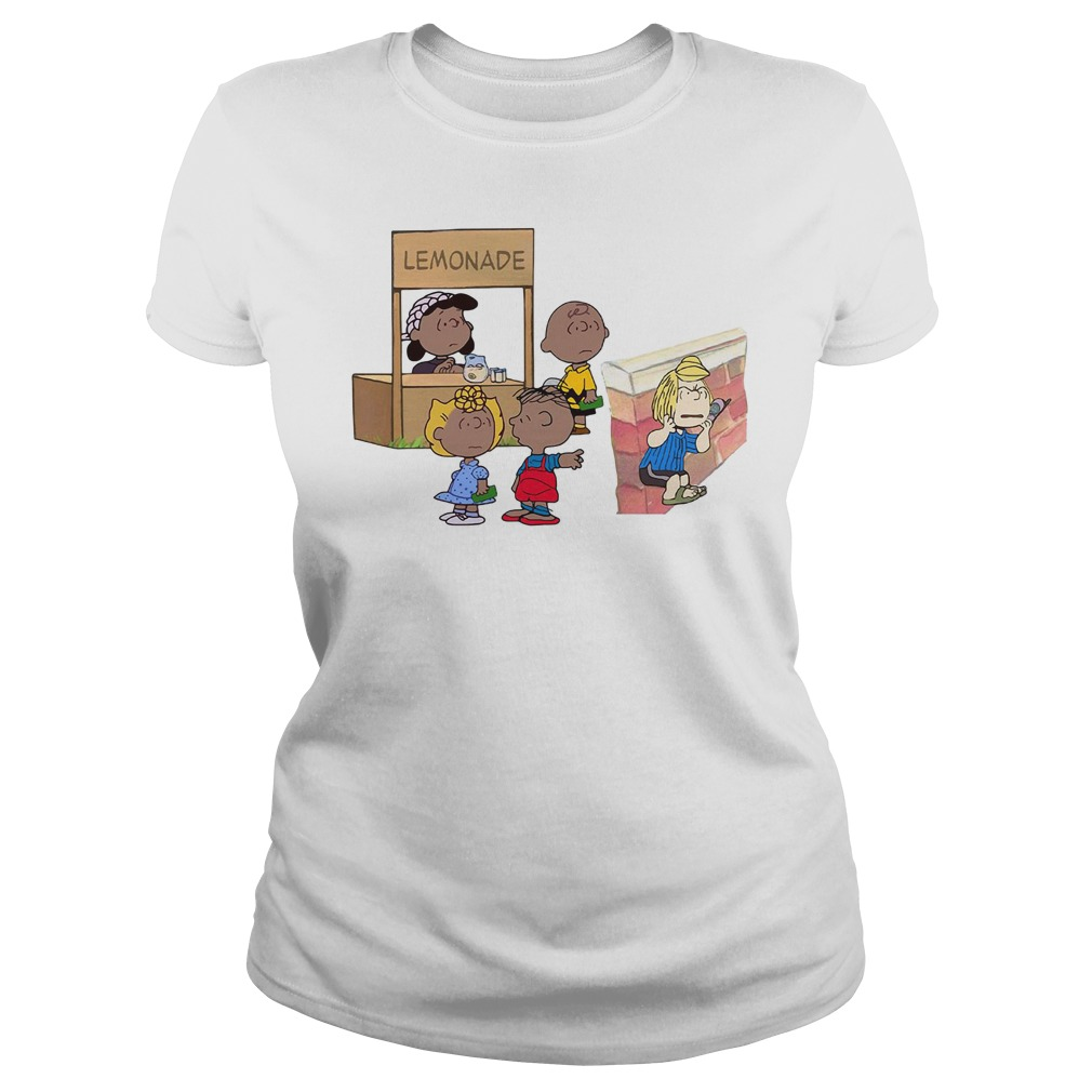 The peanuts lemonade snitch Ladies Tee