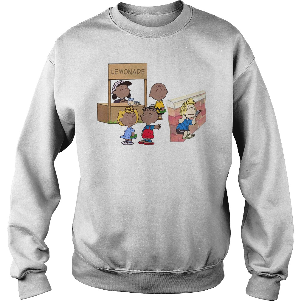 The peanuts lemonade snitch Sweater