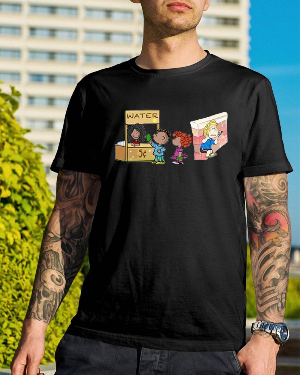 The peanuts permit patty shirt