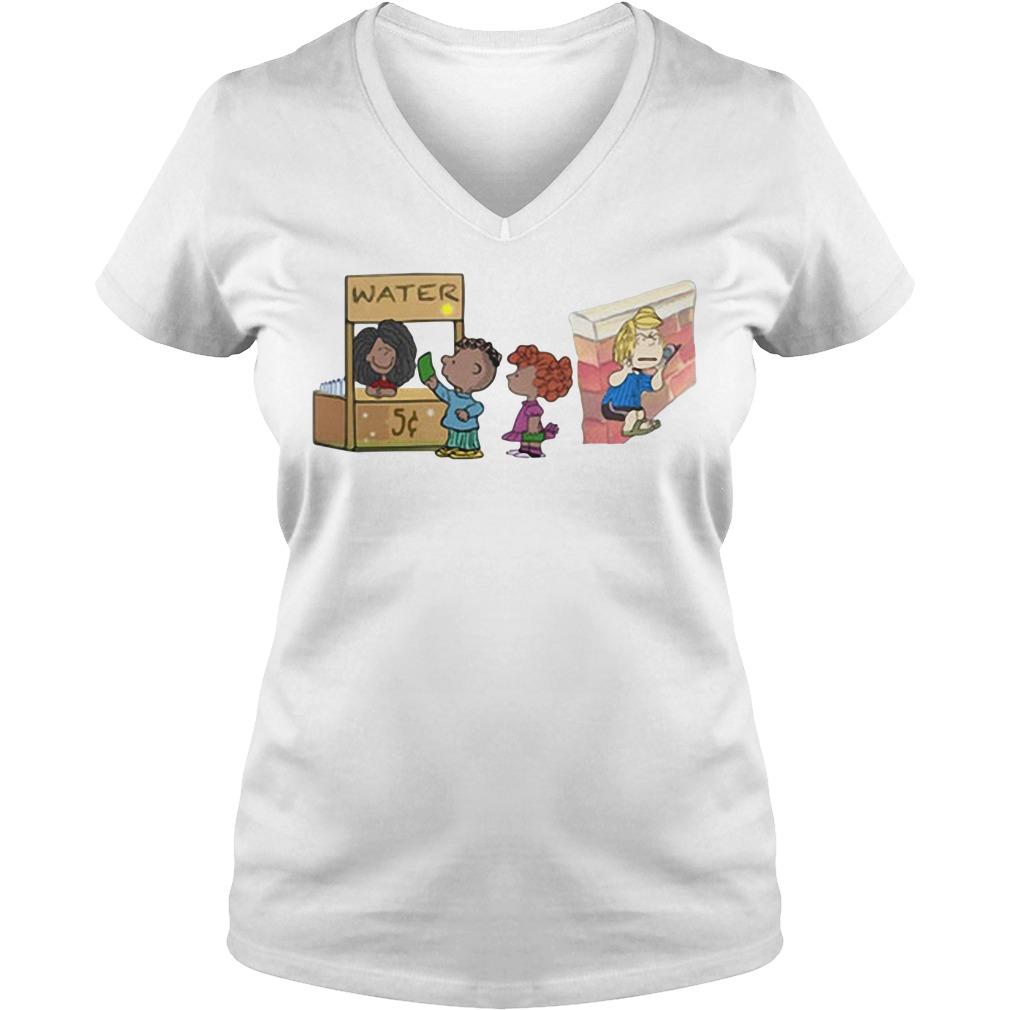 The peanuts permit patty V-neck T-shirt
