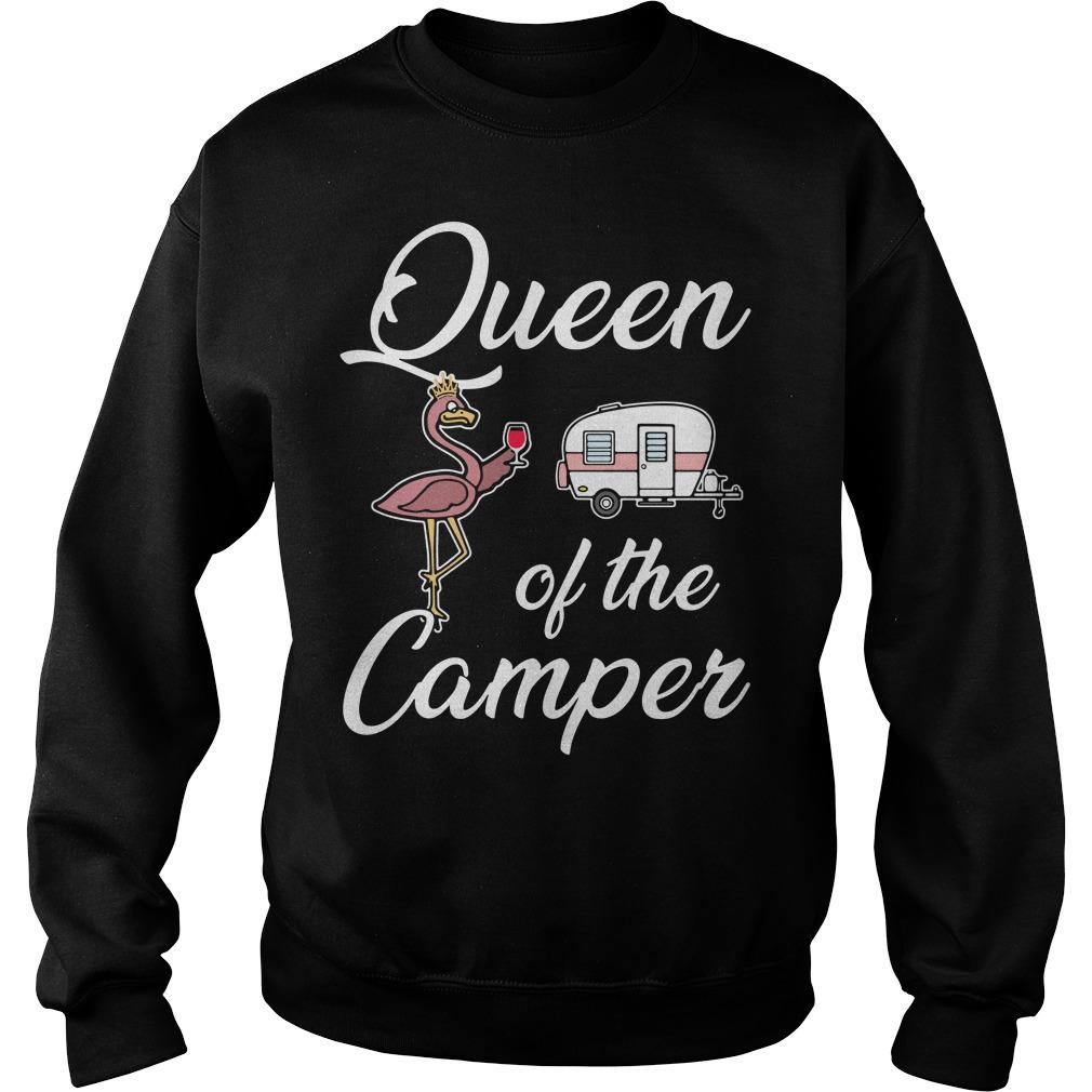 Queen of the camper Sweater
