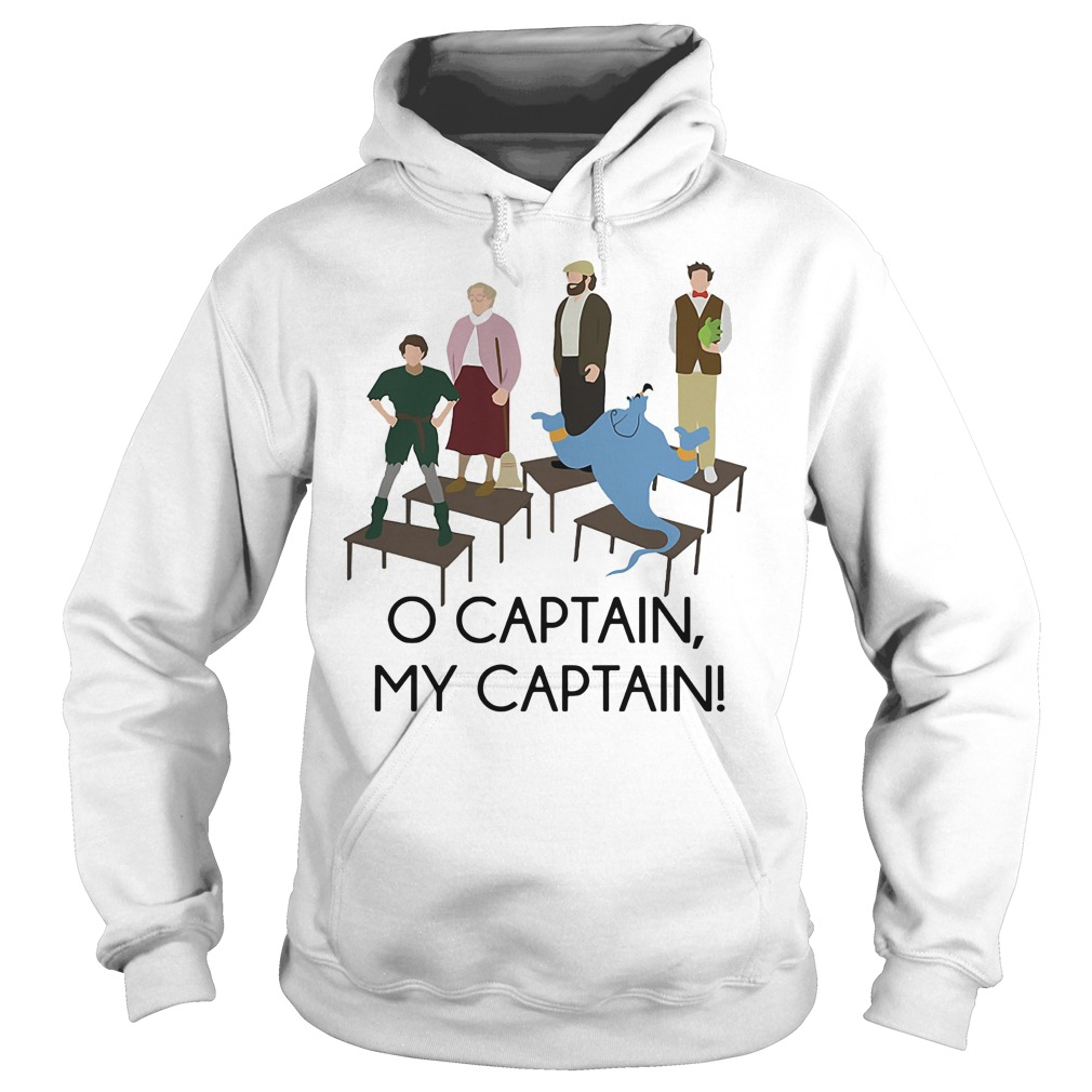 Robin Williams Tribute O captain my captain Hoodie