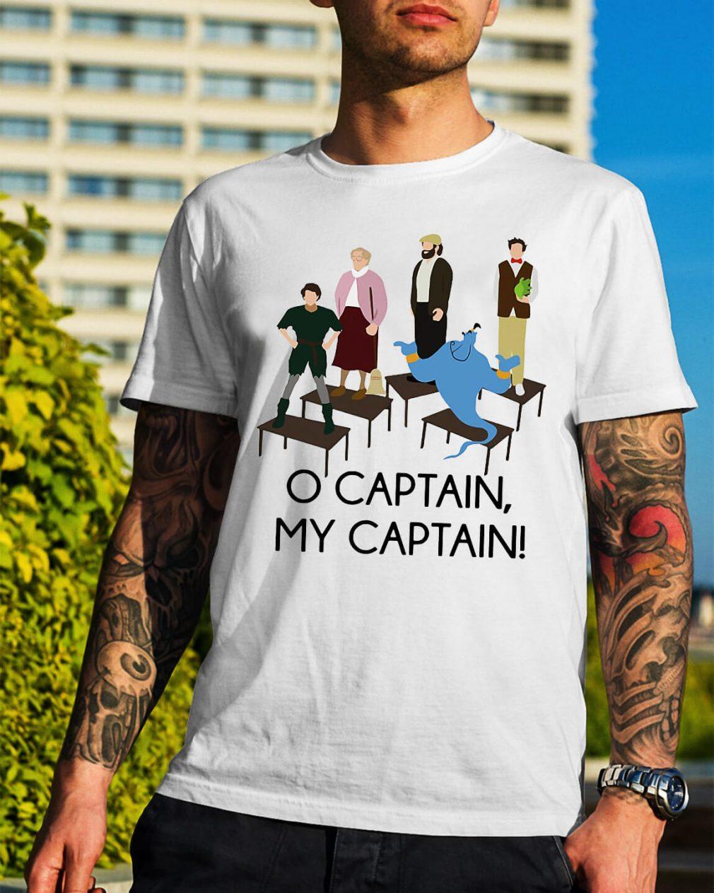 Robin Williams Tribute O captain my captain shirt