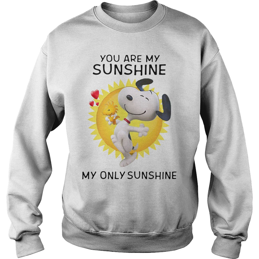 Snoopy and Woodstock you are my sunshine my only sunshine Sweater