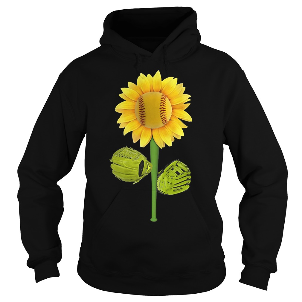 Sunflower baseball Hoodie