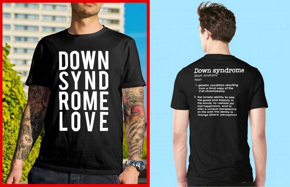 Down syndrome love shirt