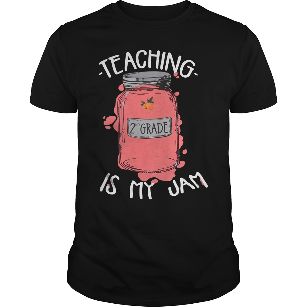Teaching 2nd grade is my jam Guys Shirt