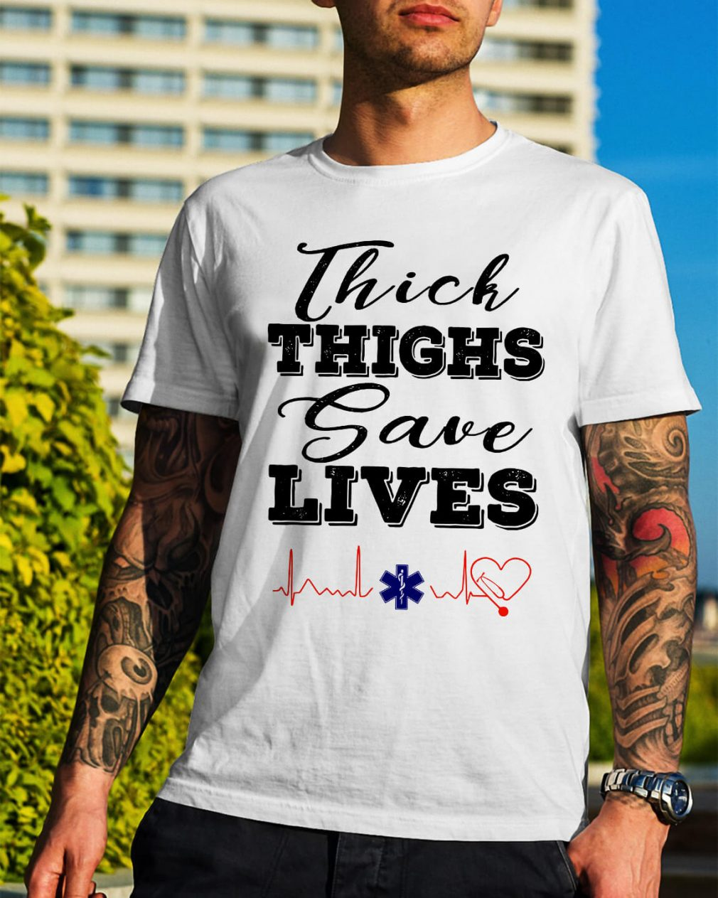 Thich thighs save lives shirt